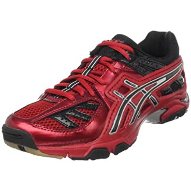 ASICS Men's GEL-Volley Lyte Volleyball Shoe,Red/Black,10 M US
