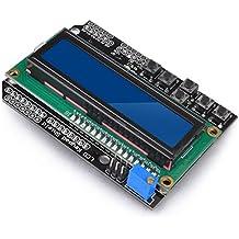 kuman 1602 Shield Module LCD Display V3 for Arduino UNO R3 MEGA2560 Nano DUE KY54