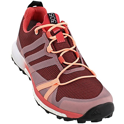 adidas Terrex Agravic GTX Shoe Women's Trail Running 6 Tactile Pink Haze Coral White