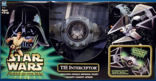 (Star Wars Power of the Jedi Tie Interceptor)