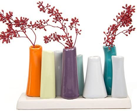 fabulous kitchen table centerpieces presented with bright.htm amazon com chive pooley 2  unique rectangle ceramic flower  chive pooley 2  unique rectangle