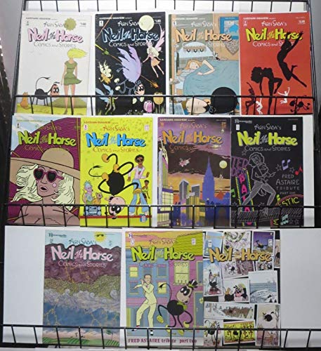 NEIL THE HORSE COLLECTION! 11 issues! 80s Funny Animal classic!