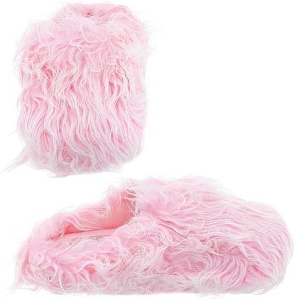 Amazon.com   Womens Pink Furry Fuzzy