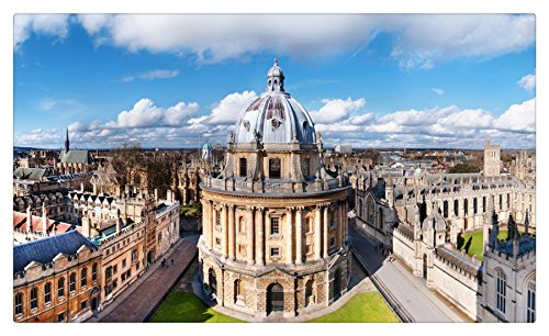 United Kingdom Houses Horizon Oxford Cities tourist souvenir Furniture & Decorations magnet fridge magnets (Horizon Oxford)