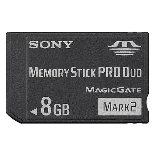 (Sony MSMT8G 8GB Mark2 Memory Stick PRO Duo)
