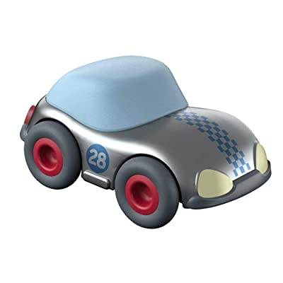 HABA Kullerbu Silver Speedster with Momentum Motor - Can be Enjoyed with or Without The Kullerbu Track System - Ages 2+: Toys & Games