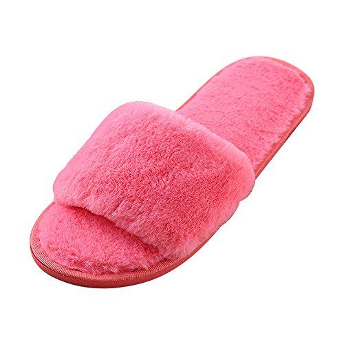 Hiver Chaussures Chaussons Plancher Peluche De Automne Et De Style Dames Mignon Eastlion En Maison Dessinée Bande w7T0gqqE