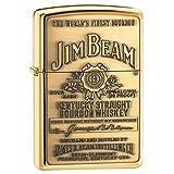 Gifts Infinity® Personalized Jim Beam Brass Emblem Brass ZIPPO LIGHTER - Free Engraving