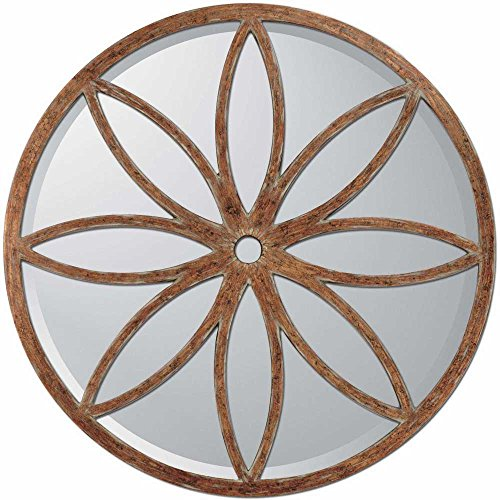 Paragon Picture Gallery 8938 Aged Round Petal Motif Wall Decor