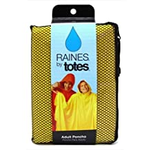 Raines Rain Poncho Adult Size Assorted Colors
