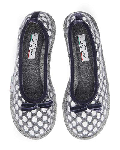 Le Pantofola Lana Pois Invernale a Cotta Pois Clare Alice Modello in Donna Ballerina qrOTgq1xw