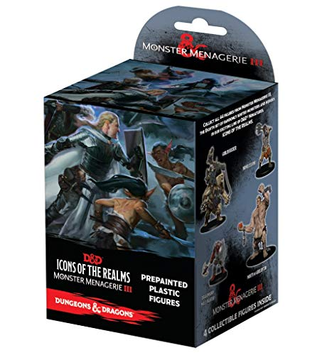 NECA Dungeons & Dragons Fantasy Miniatures: Icons of The Realms Set 8 Monster Menagerie 3 ()