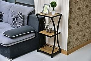 N- Modern minimalist style solid wood flower rack Living room bedroom multi-storey flower rack