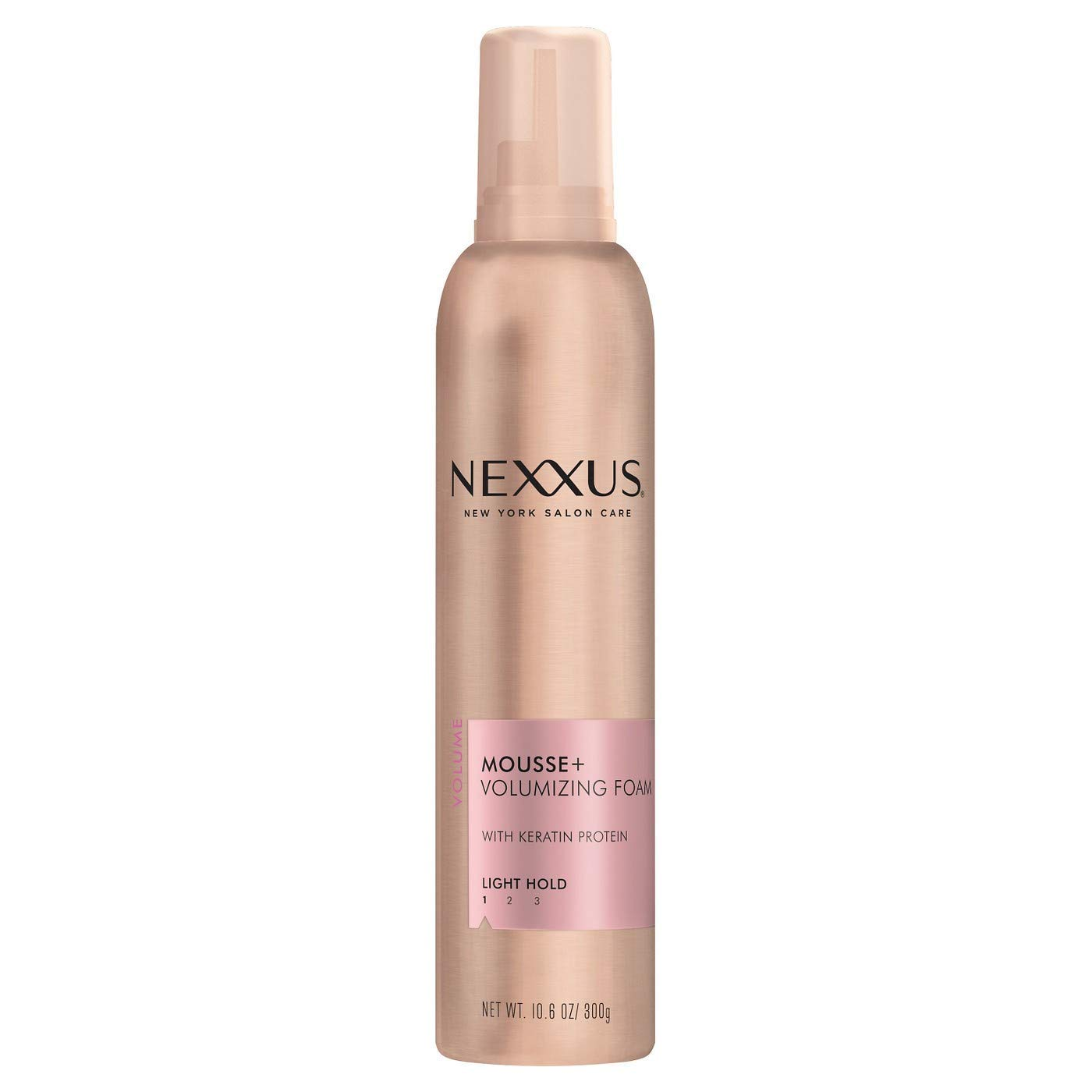 Nexxus Volumizing Foam Styler Mousse Plus, 10.6 oz, Pack of 6 by Nexxus