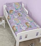 Cot Bed Duvet Cover Disney Frozen Crystal Junior / Toddler / Cot Bed Duvet Cover & Pillowcase Set