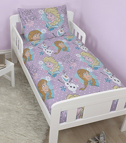 Disney Frozen Crystal Junior / Toddler / Cot Bed Duvet Cover