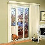High Tech Pet - Large Power Pet Sliding Glass Door for Dogs and Cats - Regular Height