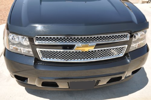 Chrome Mesh Bentley Grille (Chevy Tahoe Suburban Avalanche Chrome Mesh Grille Insert 2007-2013)