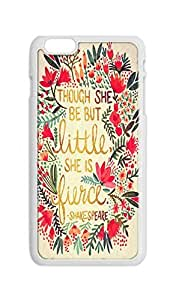 BlackKey and though she be but little she is fierce Snap-on Hard Back Case Cover Shell for iphone 6 (4.7-Inch) -2447