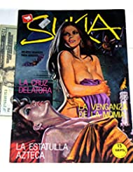 Sukia#71 Vintage 1980's Pulp fiction Vampire Adult Comic book Larger 7x10 Spain edition #92 Spanish