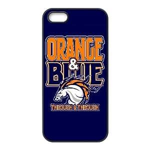 Denver Broncos iPhone 5 5s Cell Phone Case Black persent zhm004_8497468