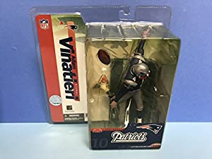 Adam Vinatieri New England Patriots Kicker NFL Action Figure by Mcfarlane
