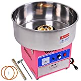 Promote Production 20'' Commercial Delicious Food Cotton Floss Candy Sugar Cones Machine Maker Countertop Pink