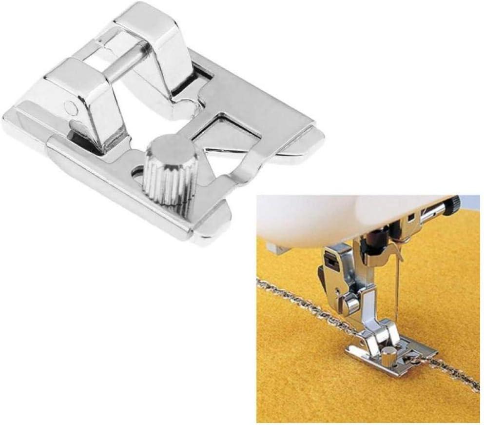 Oulensy Multifunción prensatelas Moldeado de Piezas de Encaje elástico Tela prensatelas para Coser Piezas de la máquina de Coser Accesorios: Amazon.es: Hogar