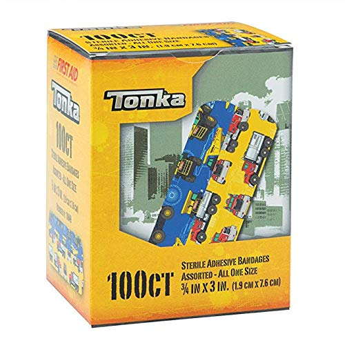 Tonka Bandages – First Aid Supplies – 100 per Pack