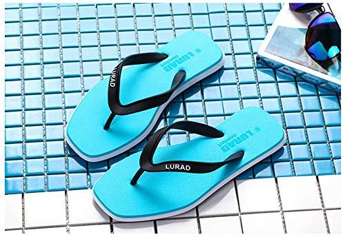 Pour Taille Femmes De Plage Pantoufles Bleu Eu Antidérapantes Chaussures 35 Bleu D'été Tongs color q16ZxXwZH