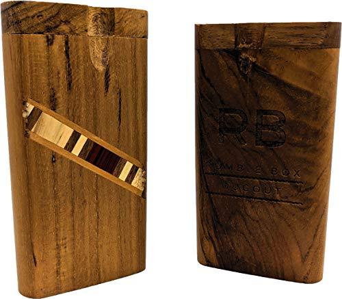 Inlaid Wood Rumble Box