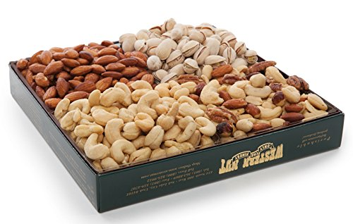 (Western Nut Company Forest Gold Gift Box, Naturally Nuts Deluxe Mix Pack, 2 lbs 1 oz)