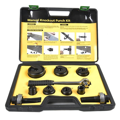 Iwiss Protable Manual Knockout Punch Kit for 1/2