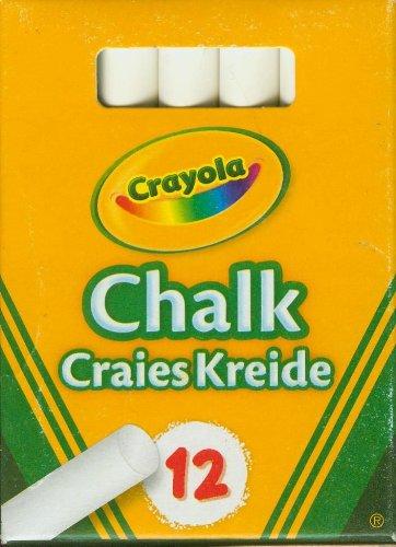 Crayola 0280 12 tizas blancas antipolvo for Aerografo crayola amazon