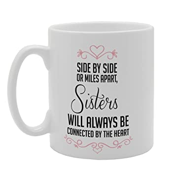Mg3221 Side By Side Or Miles Apart Sisters Will Always Amazonde