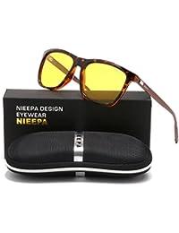 Square Polarized Sunglasses Aluminum Magnesium Temple...