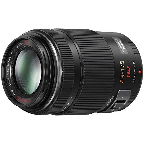 Panasonic Lumix G X Vario PZ 45-175mm F4.0-5.6 Lens for Panasonic Lumix G-Series Digital Cameras + 3PC. Filter Kit (UV+CPL+FLD) + Lens Cap Keeper + Dust Blower + Microfiber Cleaning Cloth