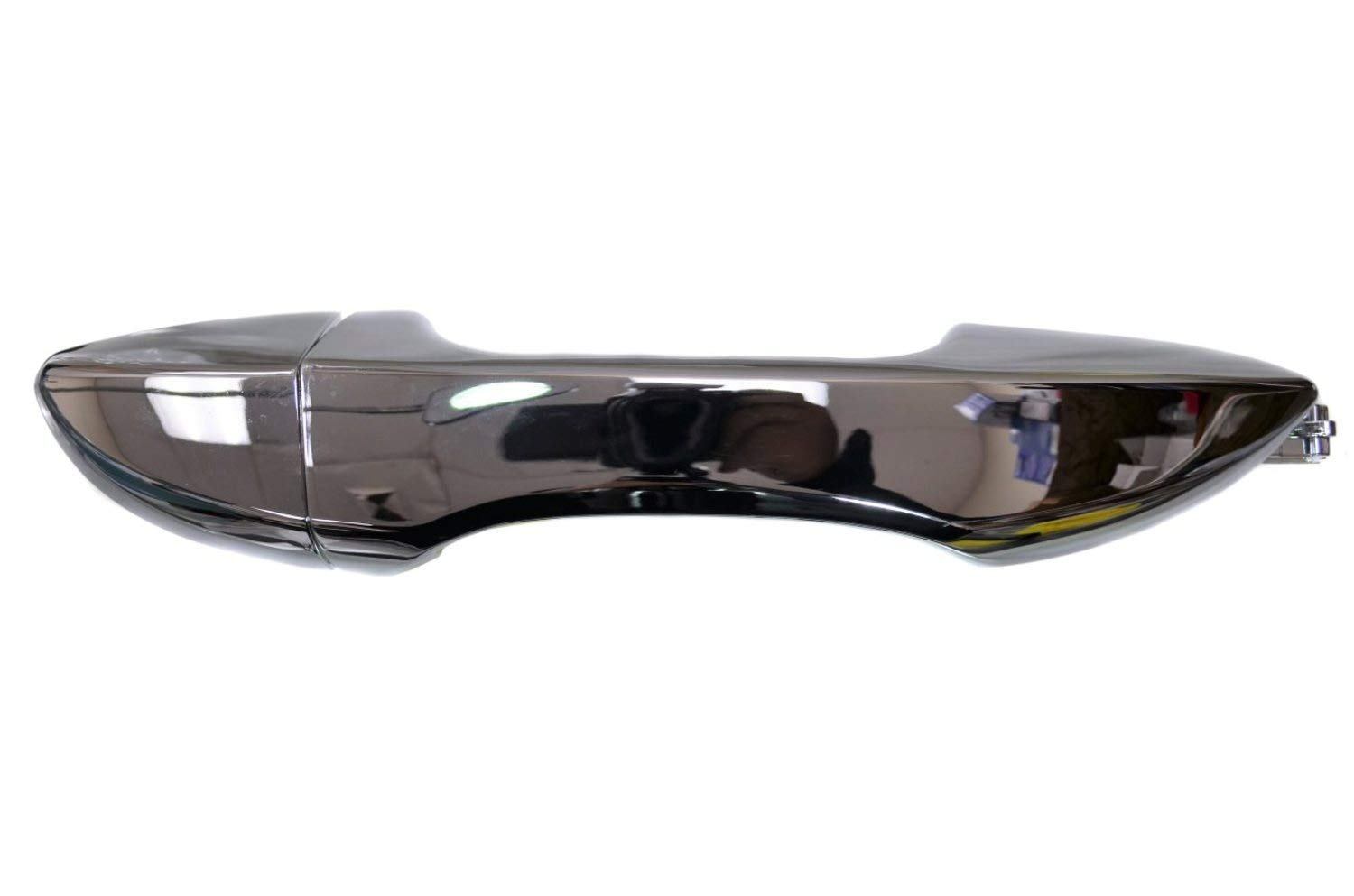 Front Right Passenger Side Exterior Outer Outside Door Handle PT Auto Warehouse TO-3289M-FRK Chrome