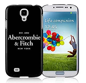 Fashionable And Durable Custom Designed Cover Case For Samsung Galaxy S4 I9500 i337 M919 i545 r970 l720 With Abercrombie and Fitch 14 Black Phone Case