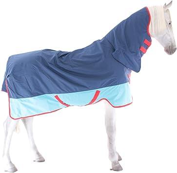 Horseware Amigo Mio Lite All in One Turnout Rug Navy//Tan 6-0