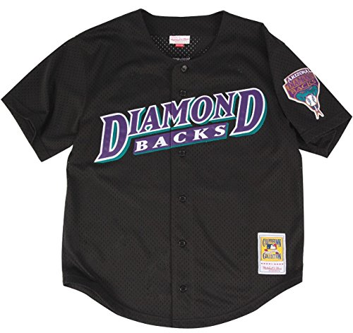 Randy Johnson Black Arizona Diamondbacks Authentic Throwback Mitchell & Ness Jersey 3X-Large (56)