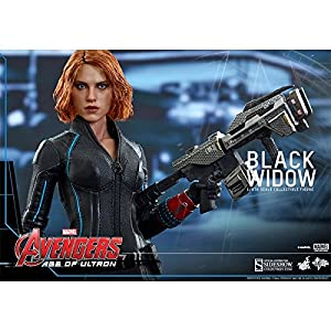 Hot-Toys-Movie-Masterpiece-Avengers-The-Age-of-Ultron-Black-Widow-16-Scale-Plastice-Painted-Action-Figure