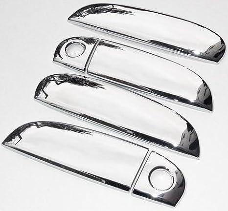 Accesorios Hyundai i10 cromo Tuning Puerta Mango paneles: Amazon.es: Coche y moto
