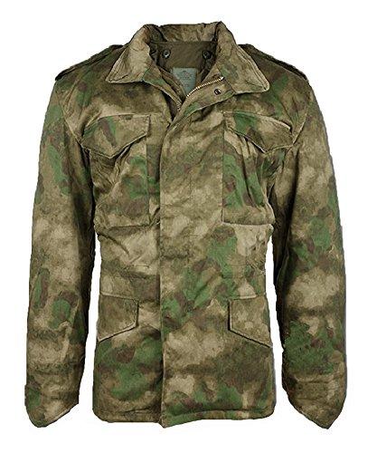 Mil-Tec Men's Classic US M65 Jacket MIL-TACS FG size ()