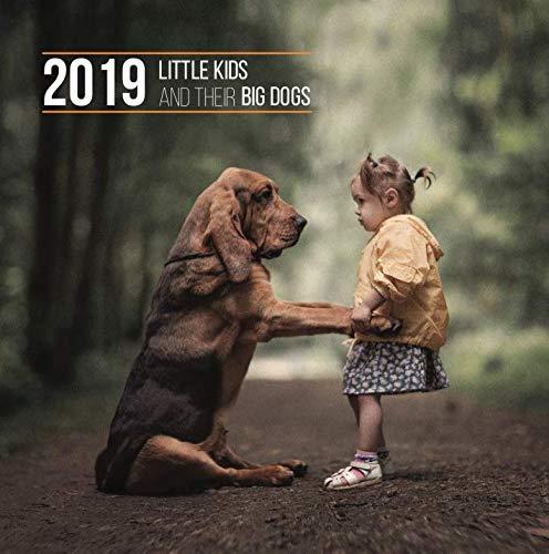 Little Kids and Their Big Dogs 2019 Monthly Wall Calendar Revodana Publishing