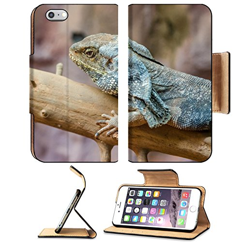 MSD Premium Apple iPhone 6 Plus iPhone 6S Plus Flip Pu Leather Wallet Case Frilled Lizard IMAGE 20988032