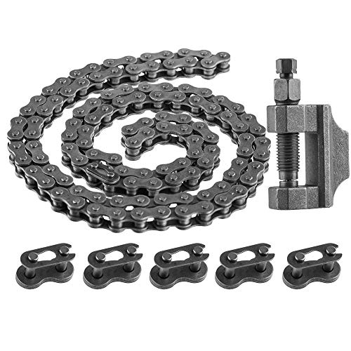 - SaferCCTV(TM 415 Heavy Duty Chain, 415 Chain Black Master Link, Chain Breaker Cut Link Remove Tool for 49cc to 80cc 2-Stroke Engine Motorized Bicycles
