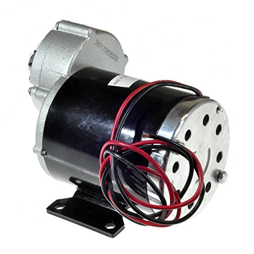 Monster Motion 36 Volt 600 Watt MY1020Z Gear Reduction Electric Motor with 10 Tooth #40 Chain Sprocket and Bracket by Monster Motion