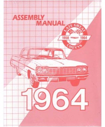 (1964 Chevrolet Belaire Biscayne Impala Assembly Manual )