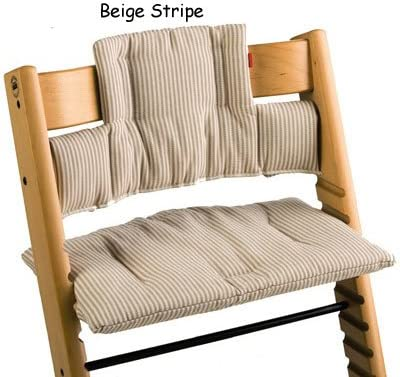 Amazon.com: Stokke Tripp Trapp cojín color Beige Rayas: Baby
